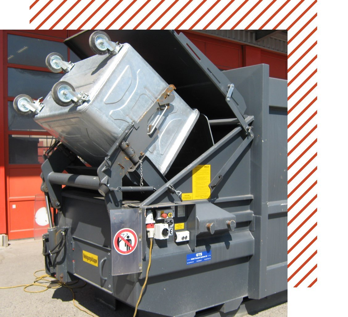 Muehle Transport Entsorgung Presscontainer Header
