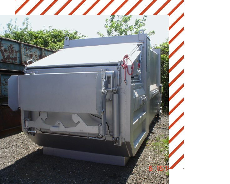 Muehle Transport Entsorgung Presscontainer Welaki