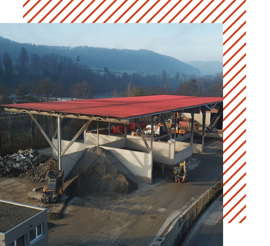 Muehle Transport Entsorgung Recycling Center Hard Header