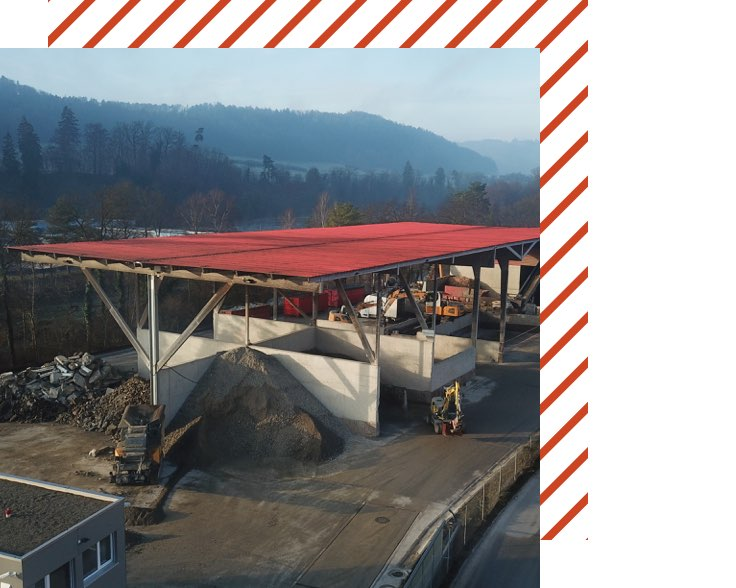 Muehle Transport Entsorgung Recycling Center Hard