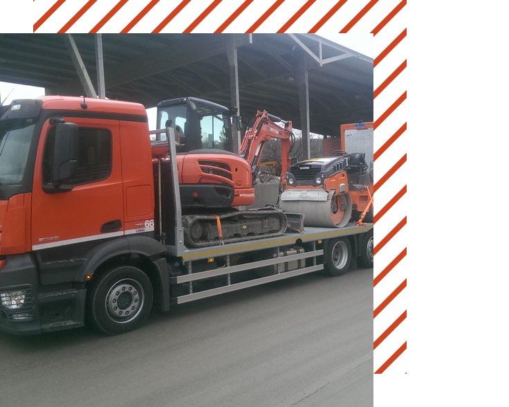 Muehle Transport Fahrzeuge Baustellentaxi
