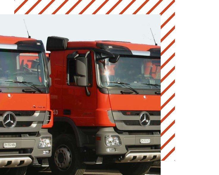 Muehle Transport Fahrzeuge Kipper