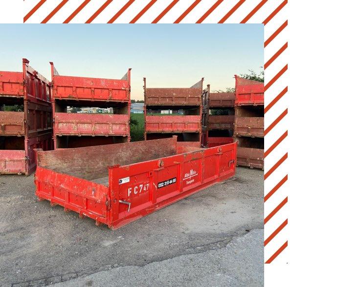 Muehle Transport Flachcontainer 7